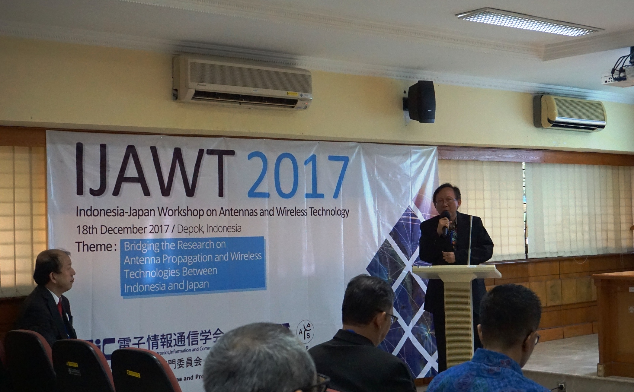 Indonesia Japan Workshop on Antennas and Wireless Technology (IJAWT2017)