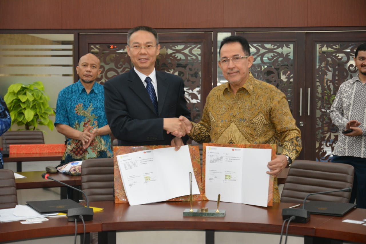 Penandatanganan Kerjasama dengan China Shenhua Energy Company Limited Guohua Power Branch